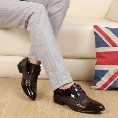 Review Tentang Outlet Pria Bisnis Kasual Kulit Sepatu Brown Intl