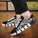 Toko Outlet New Men S Casual Kanvas Sepatu Putih Intl Lengkap Di Tiongkok