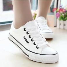 Promo Outlet White Sepatu Klasik Kain Sepatu Untuk Siswa Internasional Urban Preview