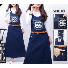Overall Hijab Jumpsuit Jeans Angel Werpak With Iner Hijabers Jumper - Cof4fw