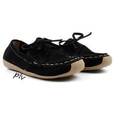 Spesifikasi Pluvia Sepatu Flat Shoes Loafers Wanita Us103 Hitam Terbaru