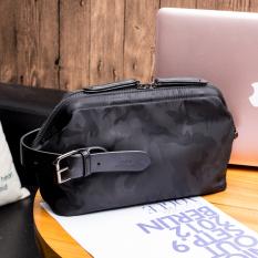 Dapatkan Segera Oxford Tas Kain Kapasitas Besar Clutch Bag Tas Shishang Pria Tas Tangan Hitam Tas Tas Pria Tas Selempang Pria