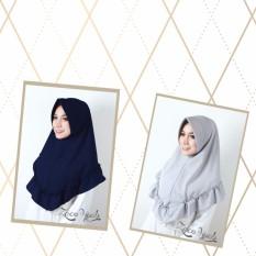 Spesifikasi Pad Kriwil Khimar Ruffle Zaco Hijab