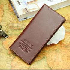 PADIE - Dompet kulit pria panjang branded -  import kulit sintetis/dompet cowok/laki-laki/tempat uang