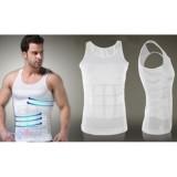 Toko Padie Slim N Lift Body Shaping For Man Men Putih Slimming Shirt For Men Pakaian Dalam Pria Kaos Dalam Pelangsing Pria Korset Pria Padie