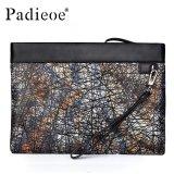 Spesifikasi Padieoe Kedatangan Baru Tas Clutch Pria Pemegang Kartu Fashion Multicolor Dompet Designer Ritsleting Berkualitas Tinggi Kapasitas Tinggi Untuk Pria Handbags Intl