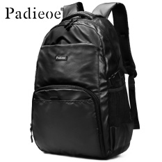 Harga Padieoe Baru Fashion High Kapasitas Ransel Pria Wanita Nylon Casual Tas Sekolah Pria Tas Laptop Wanita Pemuda Backpack Good Quality Black 17 Inch Intl Yg Bagus