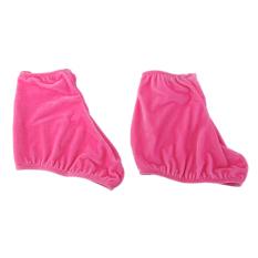 Ankle Engkel Weighted Bands Pasir Sepatu Beludru Es Skating Bisa Melar Overshoes Selimut Berwarna Merah Muda M & #45; Internasional