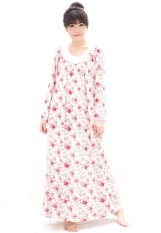 Harga Pajamalovers Daster Panjang Mary White Pajamalovers Online