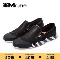 Pak Meter Modis Lapisan Pertama Kulit Kepala Plastik Sepatu Santai Sepatu Pria (Hitam (Jzhgjn942-1ks Standard Sepatu Kulit Ukuran))
