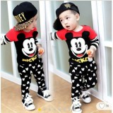 Pakaian Anak Laki Laki Fashionable Stelan Mickey Promo Beli 1 Gratis 1