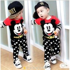 Diskon Pakaian Anak Laki Laki Fashionable Stelan Mickey