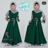Pakaian Anak Perempuan Fashionable Gamis Kids Renata Promo Beli 1 Gratis 1
