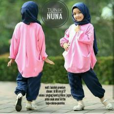 Jual Pakaian Anak Perempuan Fashionable Stelan Nuna Termurah