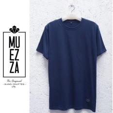 DSH Pakaian Kaos / Baju Distro Polos Premium Tshirt Muezza Jahitan Rapih