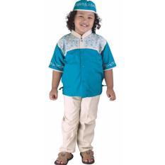 Jual Pakaian Muslim Anak Laki Laki Catenzo Junior Csg 250 Toska Kanvas Catenzo Junior Murah