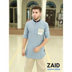 Spesifikasi Pakaian Muslim Pria Baju Gamis Pria Kurta Pakistan Zaid 105 Bagus