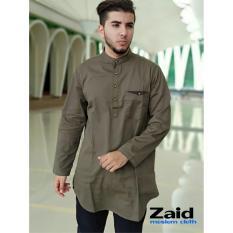 Pakaian Muslim Pria  - Baju Gamis Pria - Kurta Pakistan Zaid 108
