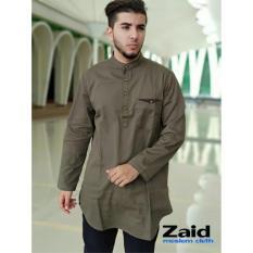 Spesifikasi Pakaian Muslim Pria Baju Gamis Pria Kurta Pakistan Zaid 118 Bagus