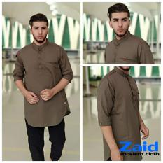 Pakaian Muslim Pria  - Baju Gamis Pria - Kurta Pakistan Zaid 123