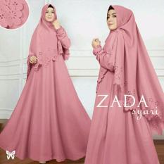 Pakaian Wanita Muslimah - Fashionable - SS Gamis Syar'i Zaskia