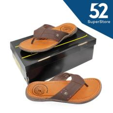 Pakalolo Sandal /Flip Flop Pria 01251 A - Brown Size 40/44