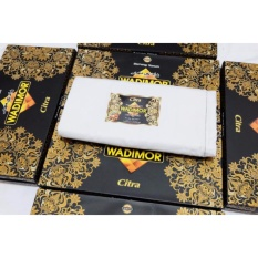 Paket Hemat 2 Pcs Sarung Tenun Wadimor - Polos Putih