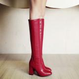 Cara Beli Paladin Baru Sepatu Boot Sepatu Wanita Sepatu Bot Musim Dingin Lapisan Tunggal Arak Anggur