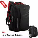 Harga Palazzo 34685 Backpack Tas Laptop 3In1 Multifungsi 17 Inch Original Black Raincover Yang Murah Dan Bagus