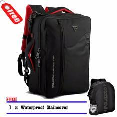 Spesifikasi Palazzo 34685 Backpack Tas Laptop 3In1 Multifungsi 17 Inch Original Black Raincover Terbaik