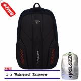 Palazzo Backpack Tas Ransel Laptop 300025 Original Predator Desain Mf Black Raincover Palazzo Diskon 40