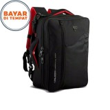 Review Terbaik Palazzo Backpack Tas Ransel Laptop 3In1 Multifungsi 34685 17 Black Original Palazzo