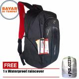 Palazzo Tas Ransel 18 Inchi 35429 Polyester Nylon Waterproof Original Black Raincover Original