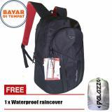 Review Toko Palazzo Tas Ransel 35545 18 Custom Design Original Black Raincover Online