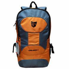 Harga Palazzo Tas Ransel Laptop Kasual 300093 Backpack Up To 15 Inch Bonus Bag Cover Orange Seken