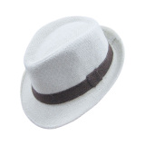 Review Palight Solidcolor Linen Jazz Anak Topi Topi Fedora Krem Palight