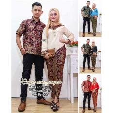 PALING MURAH Kebaya modern batik wanita couple vivian jerapah
