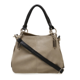Beli Palomino Brenton Top Handle Bag Cream Coklat Tua Cicilan