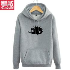PALNMVIER terpisah Lagu daerah musisi Zhao Lei tur Model Sama gratis landak bersablon musim gugur musim dingin Kaos Sweater Jaket pakaian