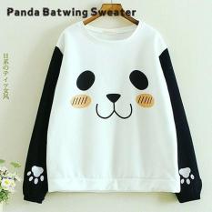 Panda Batwing Sweater  - Korean Style - Butik Bajuku