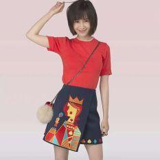 Pangeran Model Sama Dua Buah Setelan Rok (Gambar Warna) baju wanita dress wanita Gaun wanita