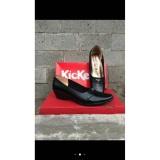 Jual Pantofel Kerja Wanita Kickers Leather