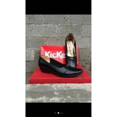 Promo Pantofel Kerja Wanita Kickers Leather Akhir Tahun
