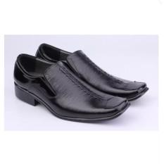 Pantofel Kulit Mengkilap Sepatu Pansus Pria Pantofel Cowok Sepatu Pdh Pendek Sepatu Formal Pria Distro 045df