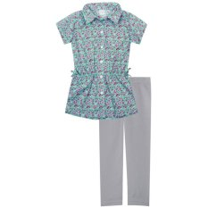 Jual Papeterie Set Pakaian Anak Perempuan St 231 Blouse Bunga Multicolor Murah