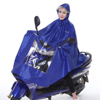 Price Checker Paradise Jas hujan motor listrik Jas hujan Ekstra Besar Diperpanjang dewasa Pria dan wanita