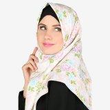 Jual Parisku Jilbab Hijab Segiempat Katun Square Darin Peach Branded Original