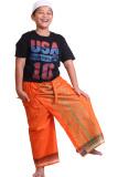 Beli Barang Pasha Cesar Kids Celana Sarung Anak Orange Online