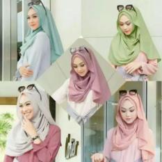 Review Pashmina Instan Hijab Belle Terbaru