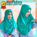 Tips Beli Pashmina Instan Kafidza Two Face Plain Tosca Hijab Syari Instant